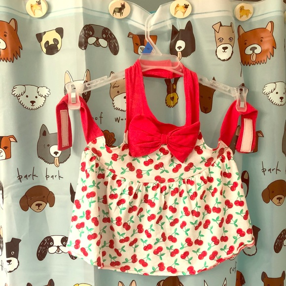 Other - 🍒Cherry dog dress🍒